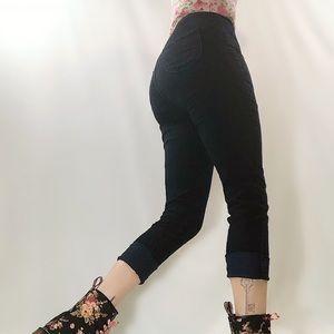 Aphrodite dark wash high waist skinny jeans